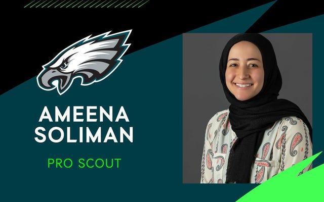 Les Eagles embauchent une femme musulmane ridiculement qualifiée en tant qu'éclaireur – les fans des Eagles réagissent horriblement de manière prévisible