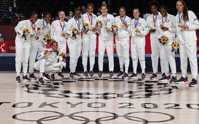 Świat nie wydaje się, żeby w najbliższym czasie dogonił kobiety z Team USA