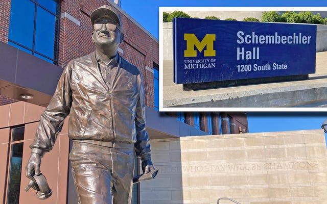 Si Bo Schembechler hizo la vista gorda ante el abuso sexual, Michigan debe borrarlo de la historia de la escuela