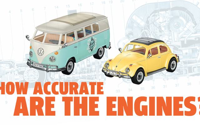 Saatnya Mengevaluasi Keakuratan Mesin VW Berpendingin Udara Playmobil