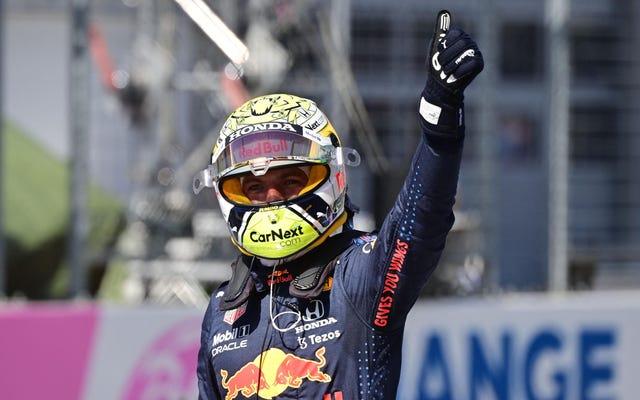 マックスフェルスタッペンがオーストリアGPで連続ポールを獲得