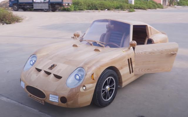 To drewniane Ferrari 250 GTO faktycznie działa i jeździ