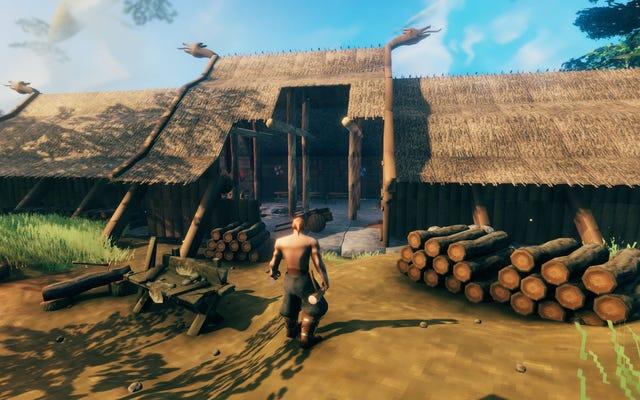 Les sculptures de Valheim prouvent que le jeu est principalement Viking Minecraft maintenant