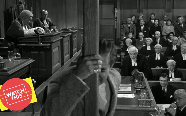 ビリー・ワイルダーは、ユニークな法廷ドラマのためにアガサ・クリスティを引き受けました