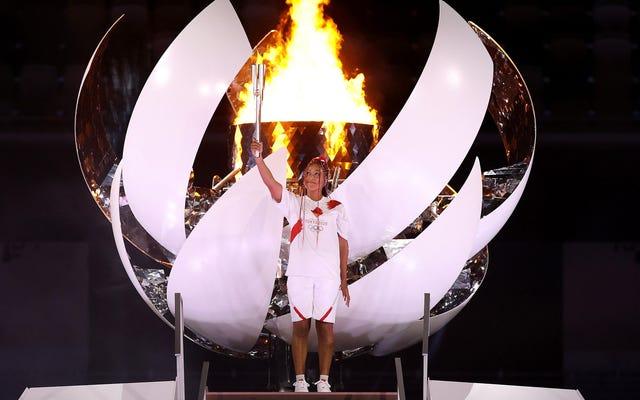 Quelques belles photos de Naomi Osaka aux Jeux olympiques maudits qui ne la méritent pas
