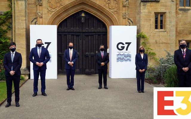 Fani E3 pokochają to: szczyt G7