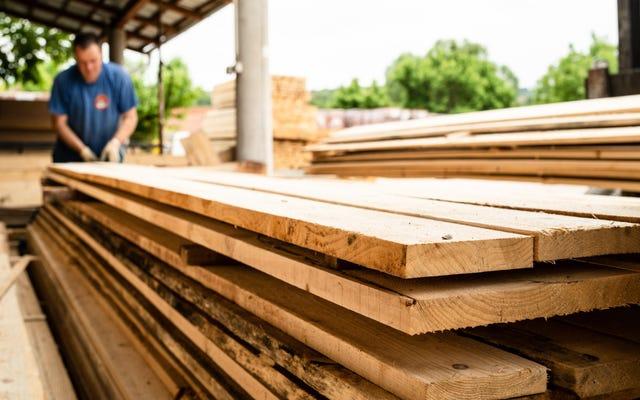 Làm thế nào để có được gỗ miễn phí hoặc giá rẻ