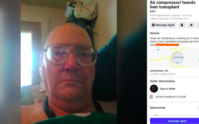 Boomer, der Luftkompressor verkauft, um Lebertransplantation zu finanzieren, erhält riesige Spende von Mitgliedern der lächerlichen Auto-Facebook-Gruppe, die sich über Boomer lustig macht