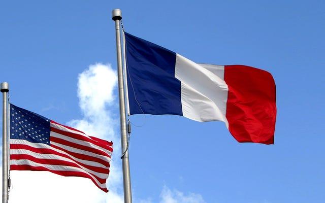 Garis Waktu Hubungan AS-Prancis