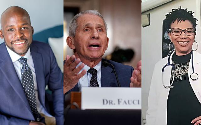 Fauci Pengecekan Fakta: Dokter Kulit Hitam tentang Keragu-raguan Vaksin, Misinformasi, dan Dokter Paling Terkenal di Amerika