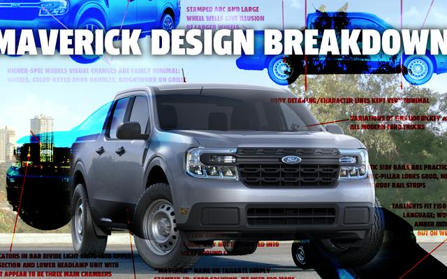 Hãy cùng tìm hiểu thiết kế của Ford Maverick năm 2022