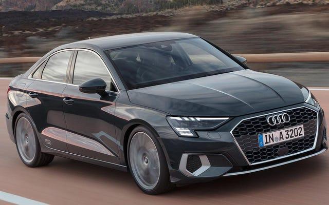 L'Audi A3 de quatrième génération arrive enfin aux États-Unis