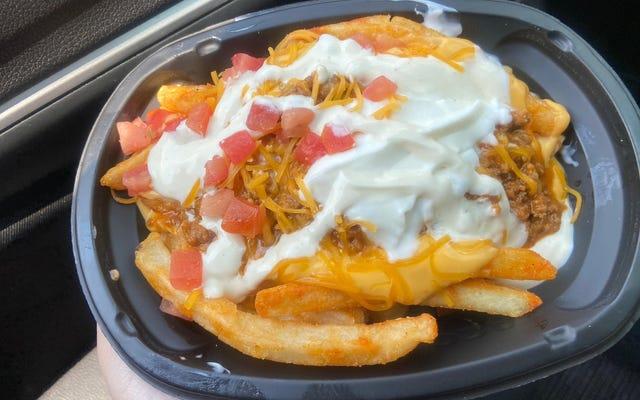 Les nouvelles frites White Hot Ranch de Taco Bell sont un beau désastre