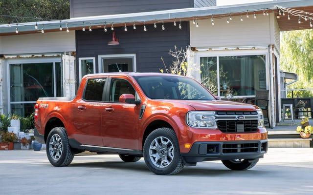 El precio del Ford Maverick supera los $ 36,000, según el configurador