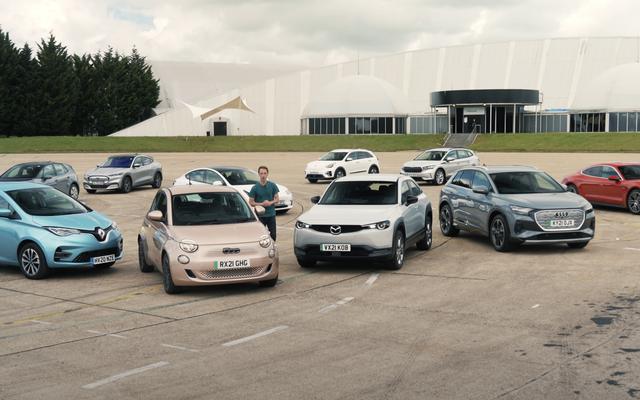 Testowanie rzeczywistej gamy samochodów elektrycznych