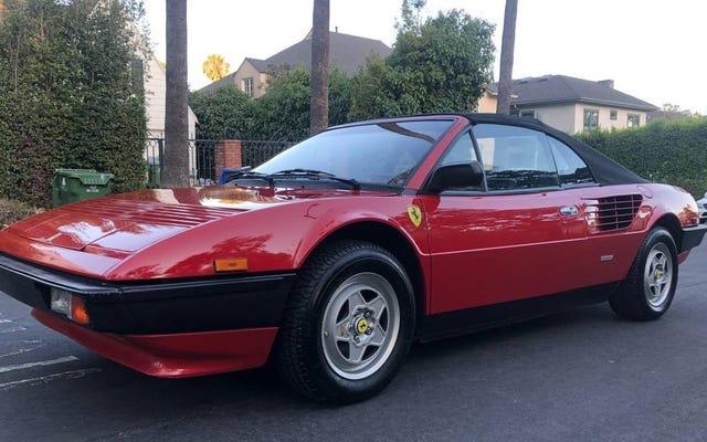 """Czy ten """"serwowany"""" kabriolet Ferrari Mondial QV Cabriolet z 1984 r. może być opłacalny za 35 000 USD?"""