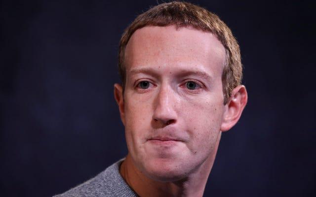 Mark Zuckerberg chiede al consiglio di sorveglianza di Facebook di decidere se discutere la colpa della moglie