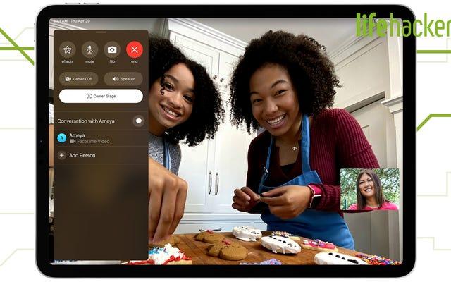 Jak wreszcie wyglądać lepiej w rozmowach wideo za pomocą iPada Pro