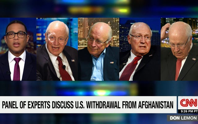 """Dick Cheneys Paneline Anchor Fırlatma """"Afganistan Uzmanlarımıza Götürelim"""" Diyor"""