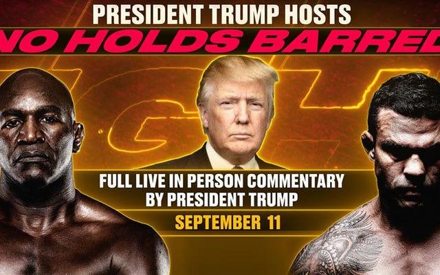 Dari Kap dan Tiger hingga Herschel dan Evander – Karier politik Trump bergantung pada penggunaan atlet kulit hitam