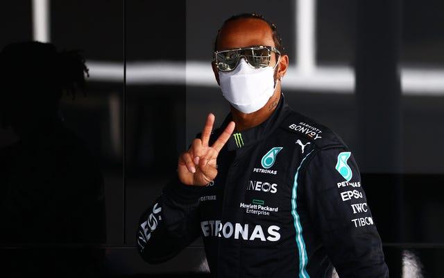 ルイスハミルトンが2021年スペインGPで100回目のポールポジションを獲得