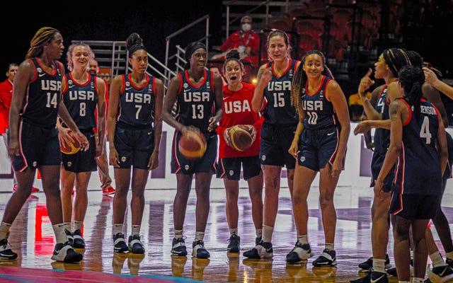 Kurangnya keriuhan di sekitar tim bola basket wanita Tim USA adalah tamparan terbaru di wajah wanita kulit hitam