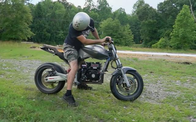 Chiếc xe đạp hoàn hảo dành cho người mới bắt đầu chạy bằng máy cắt cỏ
