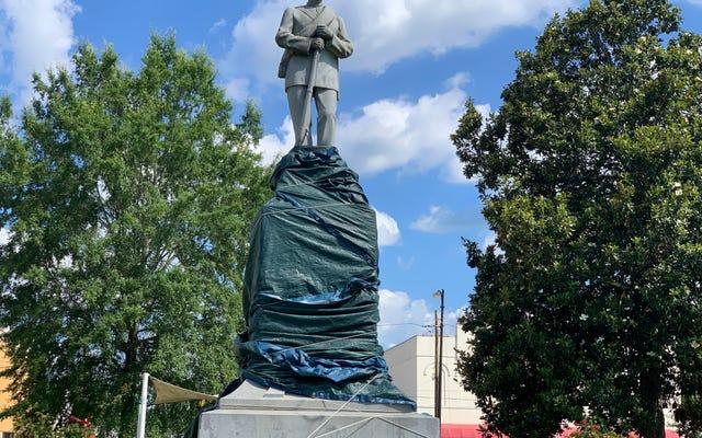 Ala, Tuskegee Çoğunluk Siyah Şehri'nde Asırlık Konfederasyon Heykeli Üzerine Dava Açıldı.