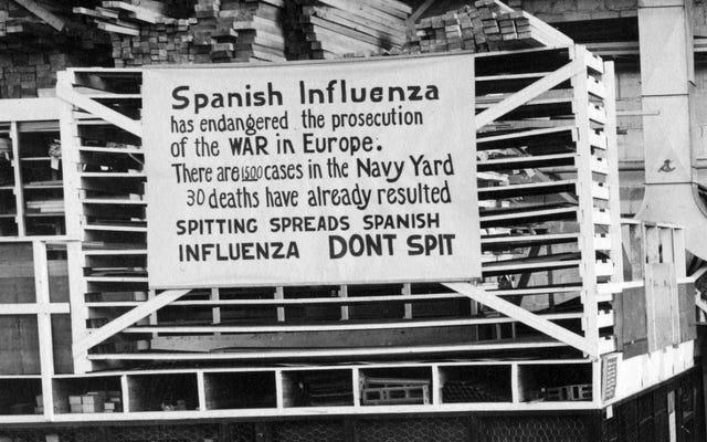 Covid-19は1918年のスペイン風邪の大流行と同じくらい多くのアメリカ人を殺しました