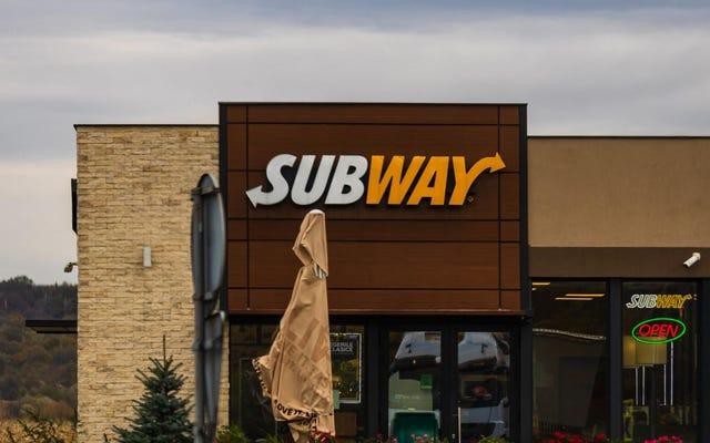 地下鉄の所有者はチーズを溶かすという企業の勅令に反抗する