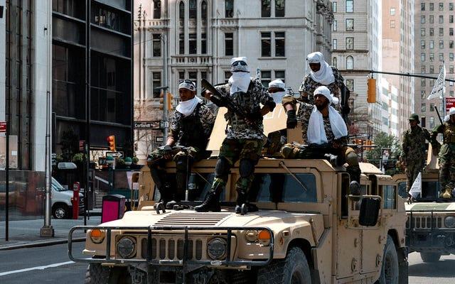 Taliban Biden Yönetiminin NYC 9/11 Anma Töreninden Ayrılmasından Günler Sonra Aşağı Manhattan'ı Geçti
