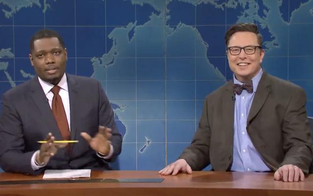 SNLのElonMuskは、ライバルズがコマーシャルを放映しているのを見て、ドージコインが30%減少しました