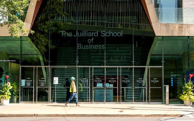 Juilliard เปิดโรงเรียนธุรกิจสำหรับนักเรียนที่ตระหนักว่าการแสดงอาจเป็นเรื่องยาว