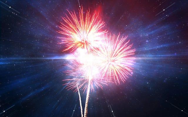Lo studio trova il risultato del Big Bang dell'ultimo universo che si fa esplodere con i fuochi d'artificio