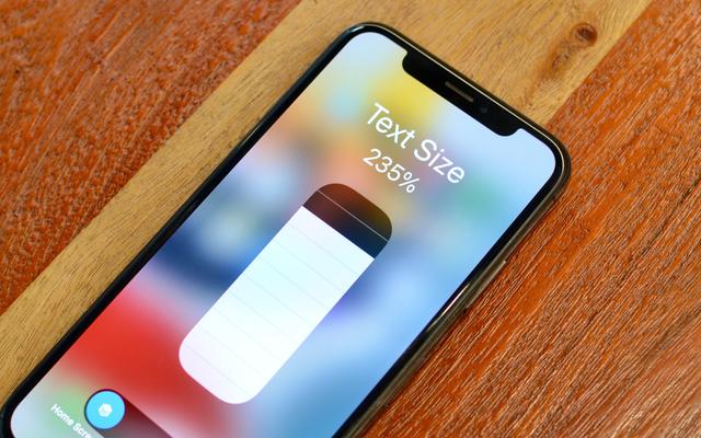 วิธีตั้งค่าขนาดข้อความที่ไม่ซ้ำสำหรับแอปต่างๆ ใน iOS 15