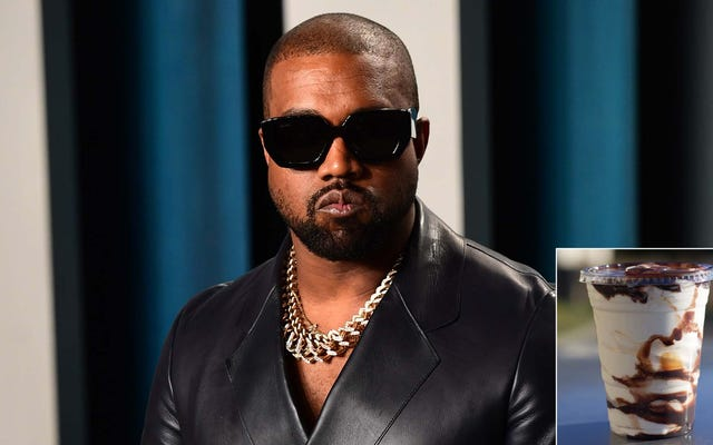 Kanye West เปิดตัวอัลบั้มใหม่ As Hot Fudge Sundae ให้กับผู้คนนับพันคนแรกใน Mercedes Benz Stadium