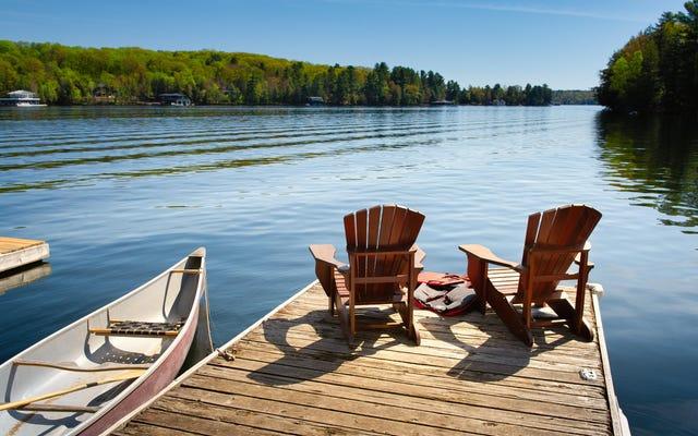 Come vincere uno stipendio di viaggio di $ 4.000 per affittare una casa sul lago quest'estate?