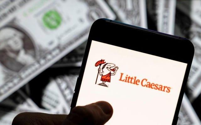 Little Caesars - самая популярная пицца в Америке ... в каком-то смысле