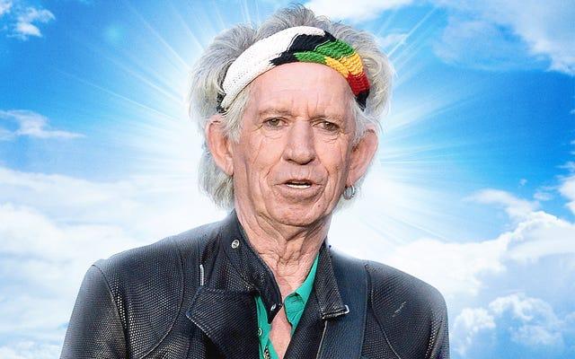 Charlie Watts confundido después de encontrarse con Keith Richards en el más allá