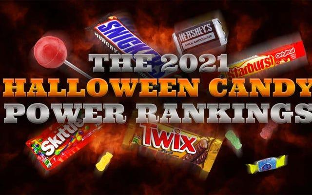 Le migliori caramelle di Halloween del 2021, classificate per portabilità