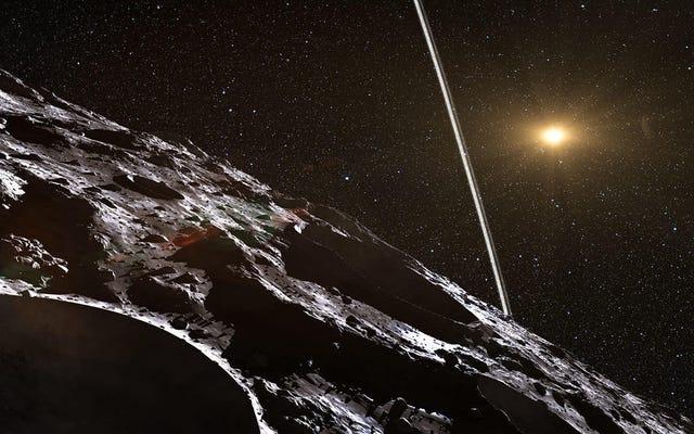 天文学者は、太陽系の外から岩の全集団を見つけたと考えています