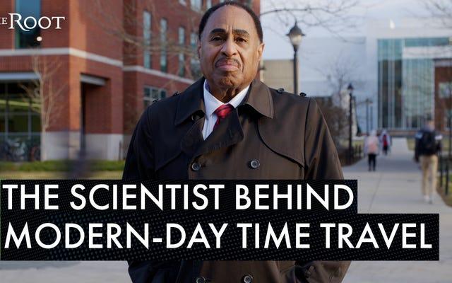 未来への黒人:この科学者はタイムトラベルの鍵を握る可能性があります