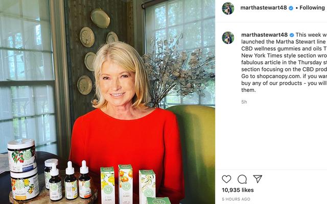 Bienvenue à l'ère du cannabis et du capitalisme de la glorieuse quarantaine de Martha Stewart