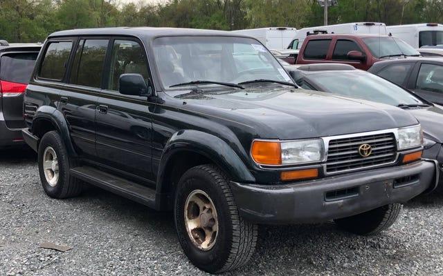 À 7 000 $, ce Toyota Land Cruiser 1997 qui a besoin de TLC est-il une très bonne affaire?