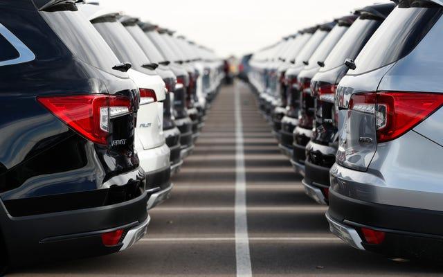 ある種の自動車貸付危機が進行中です