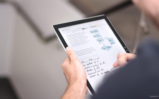 2018年にデジタルノートの作成を開始