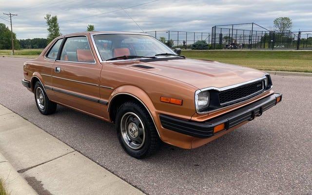 A $ 8,400, ¿podrías hacer música hermosa en este Honda Prelude de 1980?