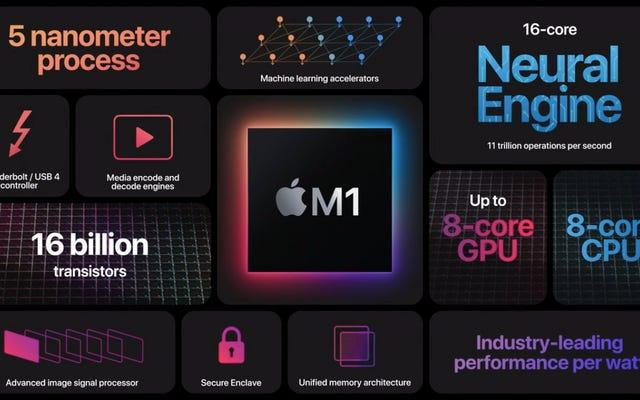 新しいM1チップを理解するためにAppleのすべての技術を分解する
