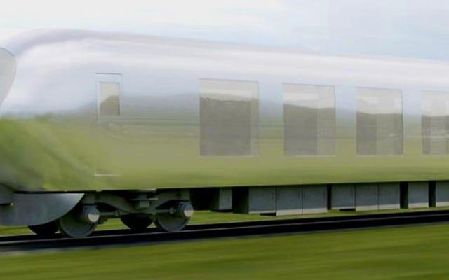 जापान की अदृश्य ट्रेन 2018 तक चलनी चाहिए
