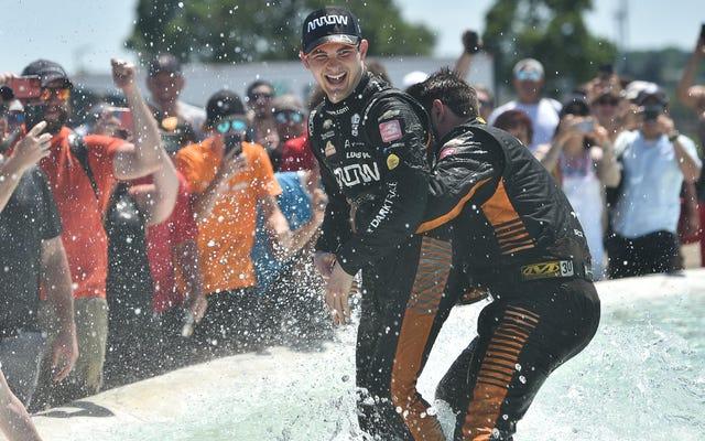 Pato O'Ward prouve qu'IndyCar est sa place